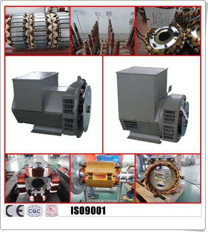 Single Phase 20kw 50hz Synchronous Diesel Generator Self-excited SX460 AVR 0